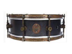ANF 5X14 Raw Steel Snare Drum