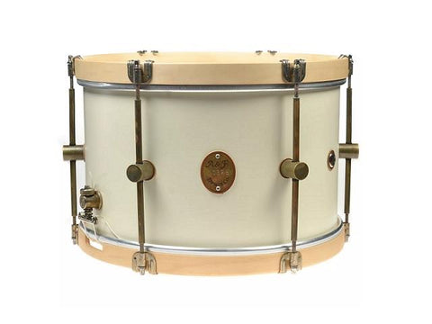 ANF Field Antique White Snare Drum 6.5x14