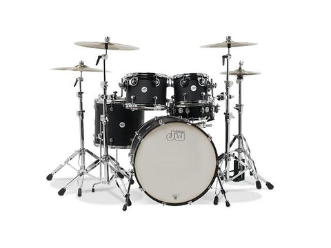 DW Design Series 5 Piece Shell Pack Black Satin