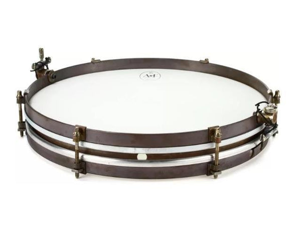 ANF Pancake Brass Snare Drum 12""