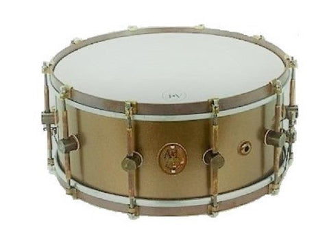 ANF Maple Club Gold Deco Snare Drum 6.5X14