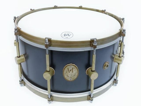ANF Teak Maple Club Chandler Blue Snare Drum 6.5X14
