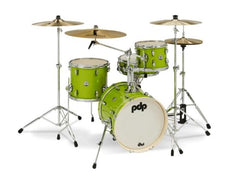 PDP New Yorker Electric Green Sparkle 4 PC Shell Pack