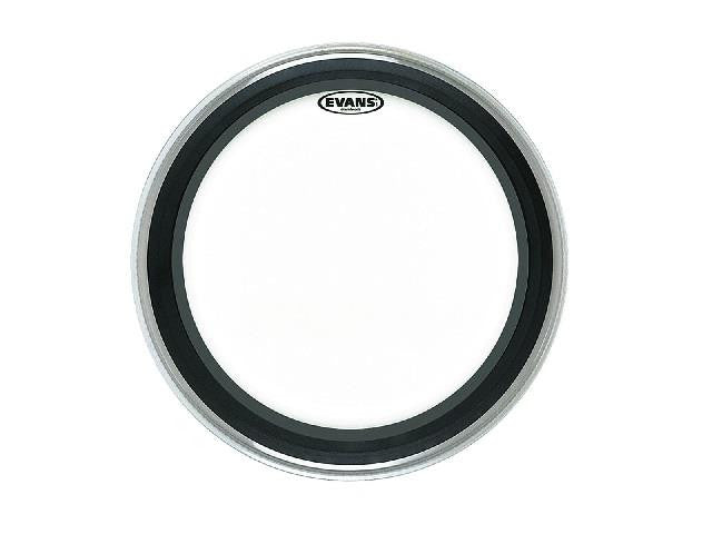 "Evans 24"" EMAD Clear Bass Drum Head"