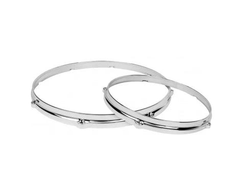 "DW 12"" 6 Hole Chrome Die Cast Top Hoop"