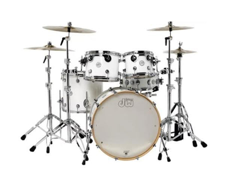 DW Design Series 5 Piece Shell Pack Gloss White