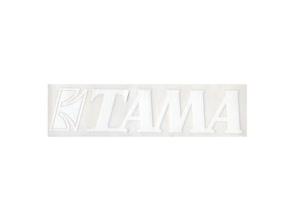 Tama White Logo Decal