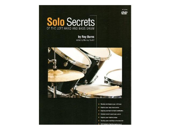 Solo Secrets - Of The Left Hand And Bass Drum DVD