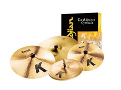 "Zildjian K0800 Cymbal Pack 14""hh, 16"" crash, 20"" ride plus 18"" crash"