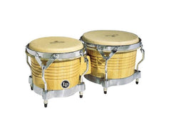 LP Natural Chrome Bongos