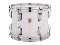Ludwig Classic Maple Downbeat White Marine Pearl Three Piece