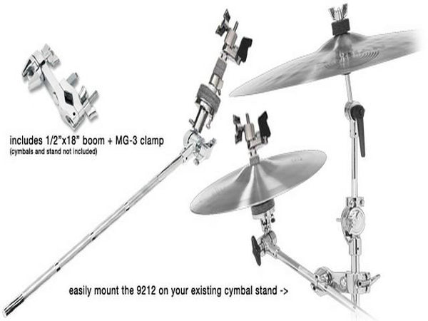 DW DWSM9212 Closed Hi-Hat Boom Arm and Clamp