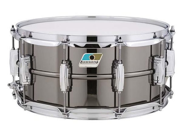 Ludwig LB417B 6.5x14 Black Beauty Snare 'B' Stock