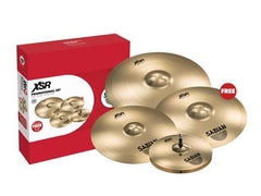 "Sabian XSR Performance Set - Free 18"" Crash"