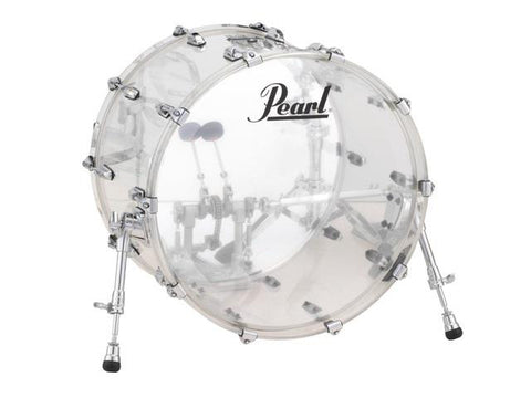 Pearl Crystal Beat Bass Drum 20x15