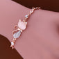 Cat Rose Gold Bracelet