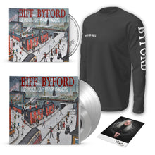 "Load image into Gallery viewer, Silver 12"" Vinyl + Scarborough Fair 7"" + CD Digipak + Long-sleeved T-shirt"