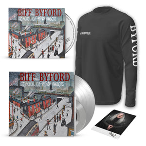 "Silver 12"" Vinyl + Scarborough Fair 7"" + CD Digipak + Long-sleeved T-shirt"