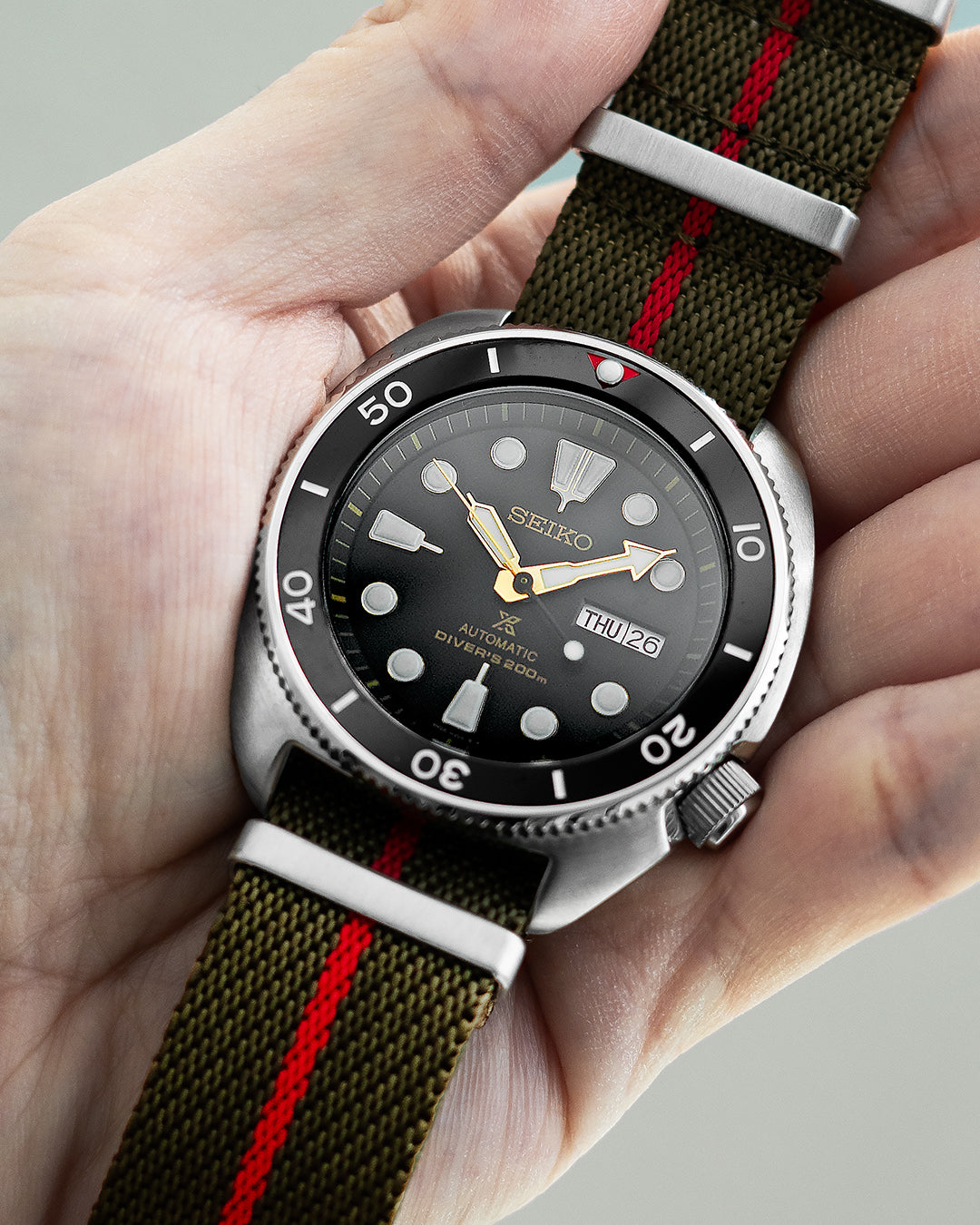 NATO M II - Olive with red centerline