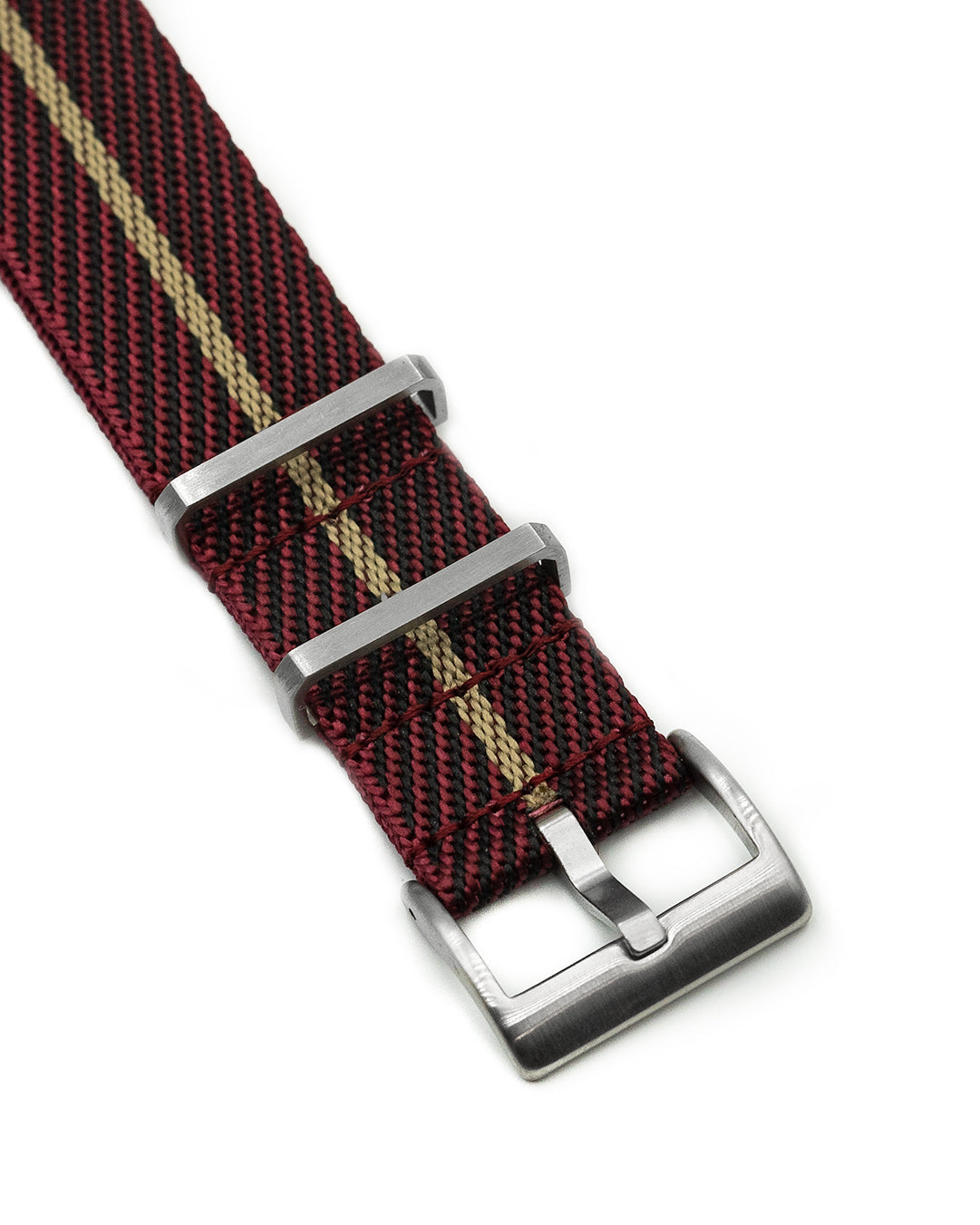 NATO M II - Maroon with Khaki centerline