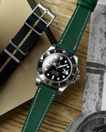 Epsom Leather Strap (Royal Green)