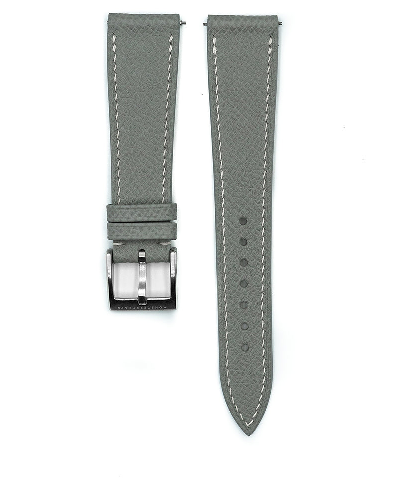 Epsom Leather Strap (Mink Grey)