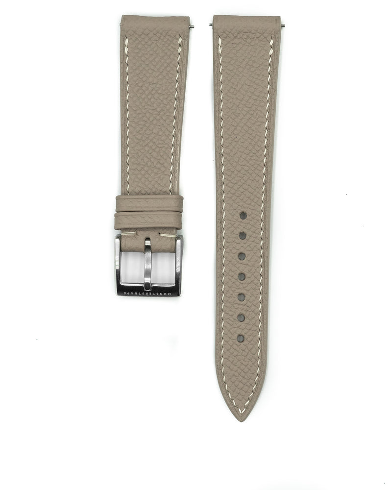 Epsom Leather Strap (Light Khaki)