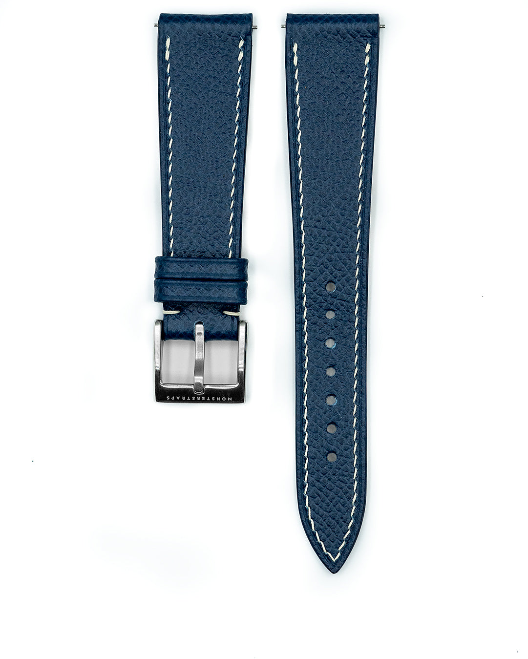 Epsom Leather Strap (Aegean Blue)