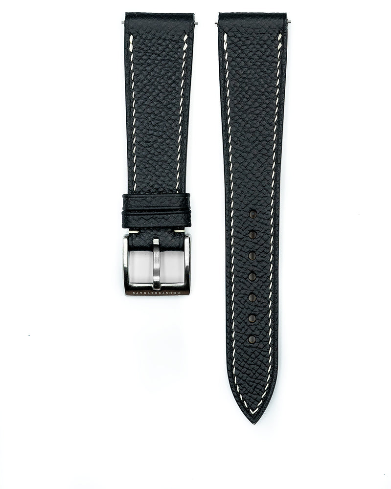 Epsom Leather Strap (Black)