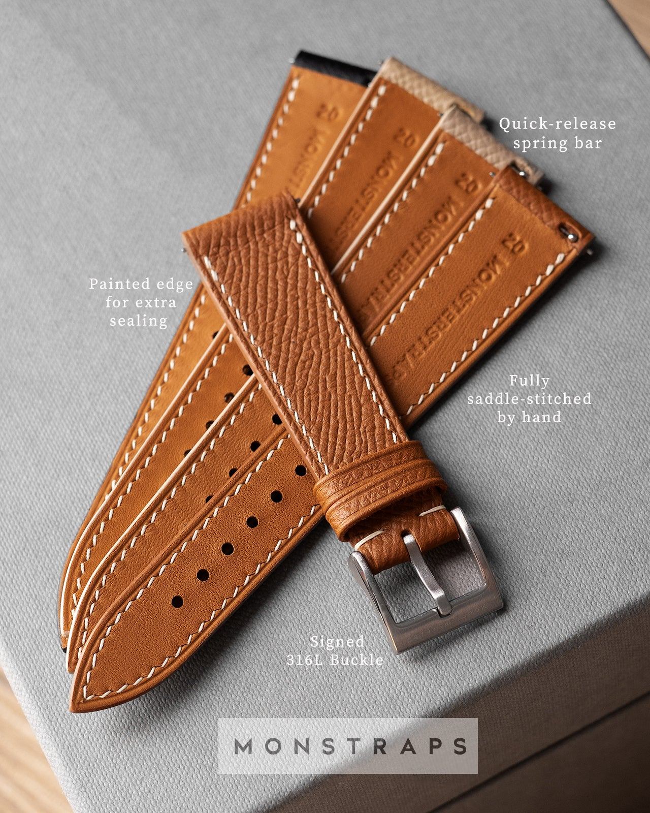 Custom - Epsom Leather Strap