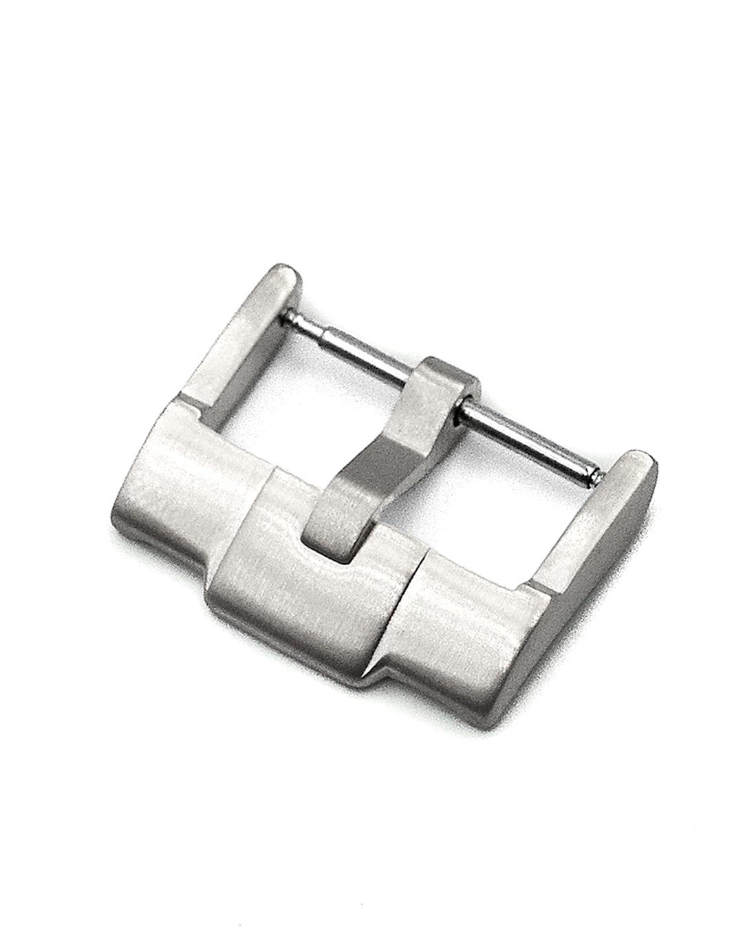 18mm Watch Buckle (Brushed Steel)