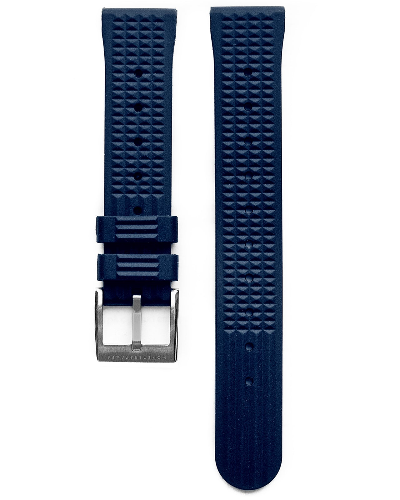 VULCANISED RUBBER - WAFFLE STRAP (NAVY, VINTAGE STYLE)