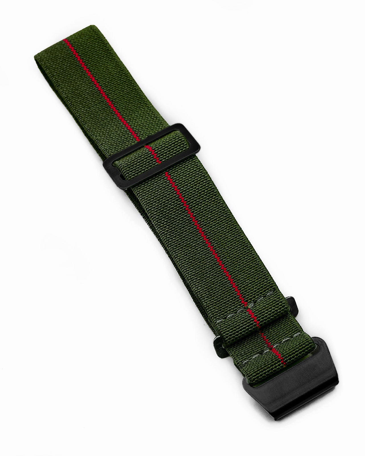 PARA Elastic (Stealth) - Olive Green with Red Centerline