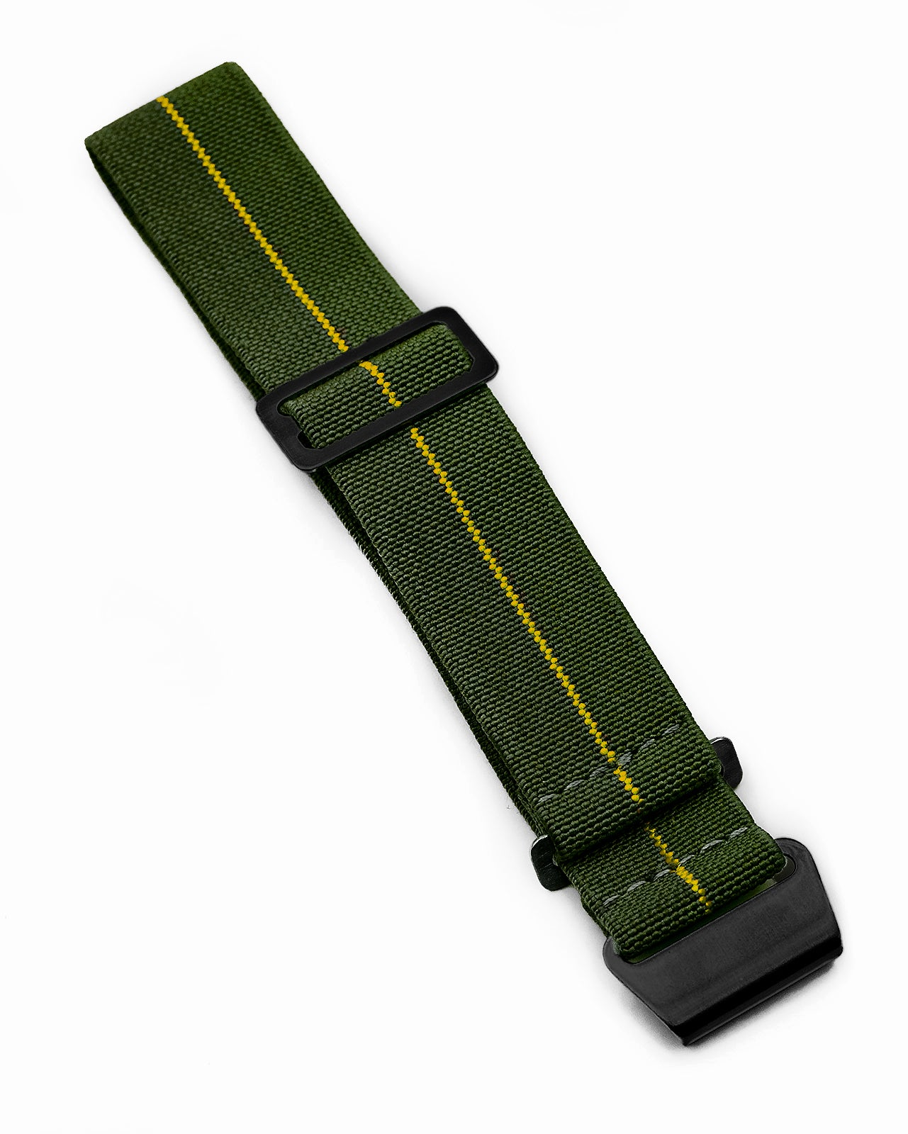 PARA Elastic (Stealth) - Olive Green with Yellow Centerline