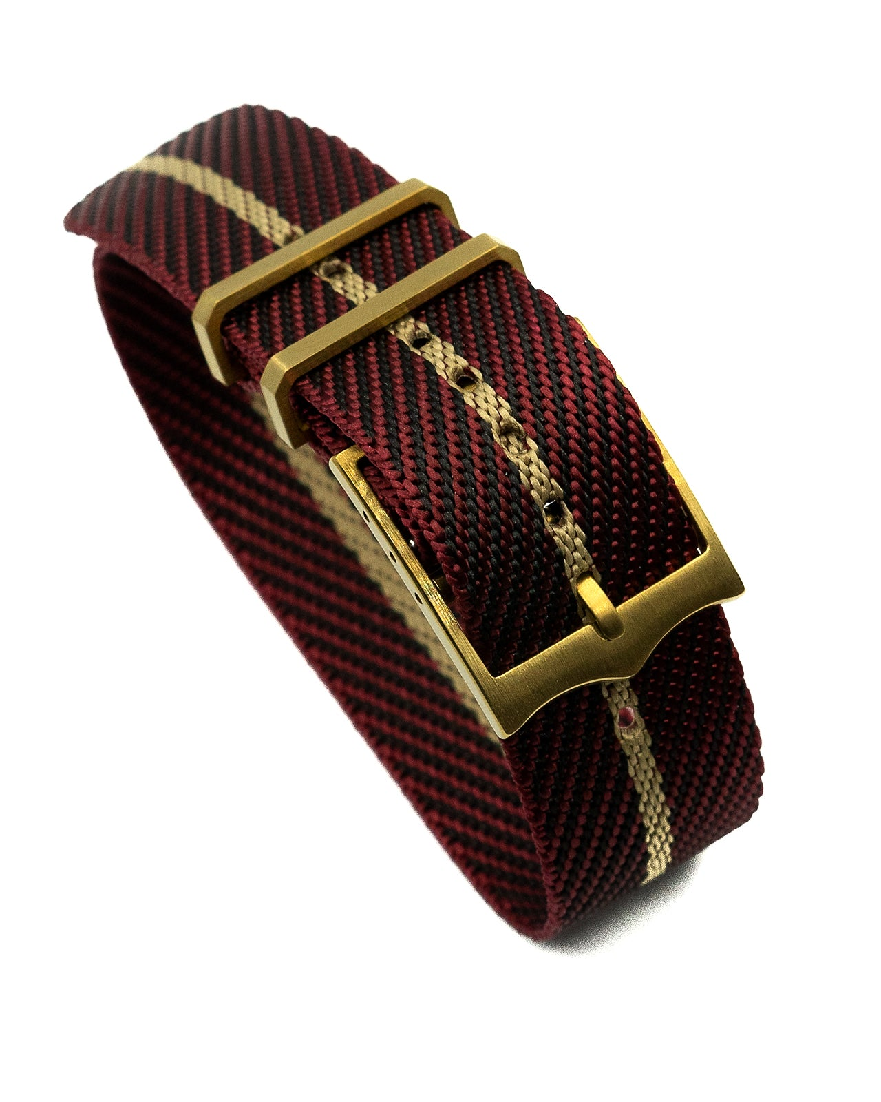 Blackbay Adjustable II (Bronze) - Maroon with Khaki Centerline