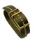 Blackbay Adjustable II (Bronze) - Olive with Khaki Centerline