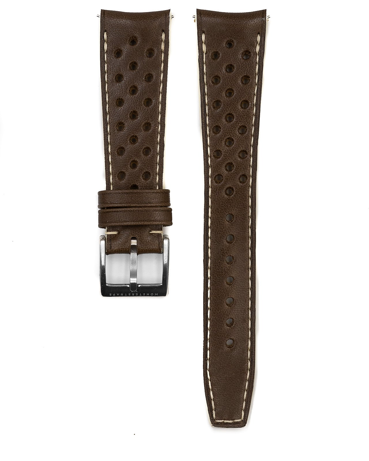 Rally Leather Strap (Chocolate)
