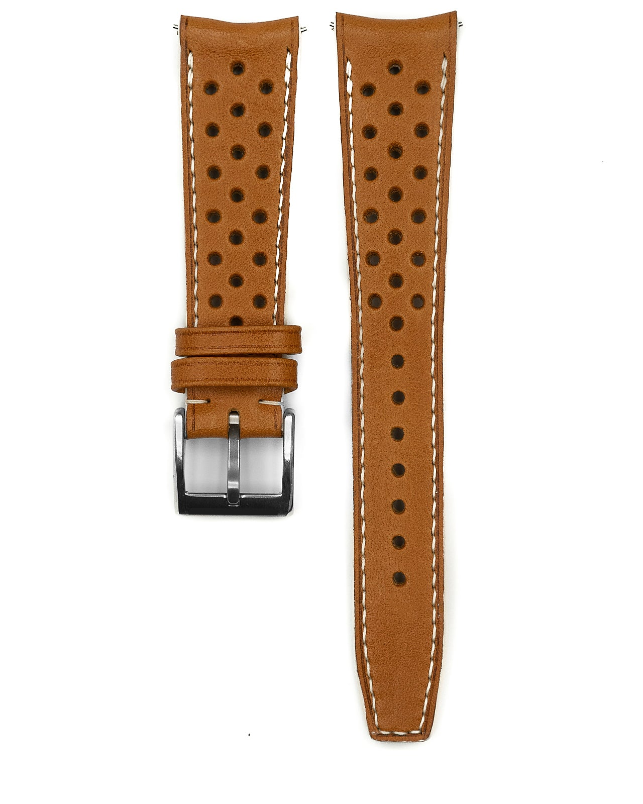Rally Leather Strap (Tan)