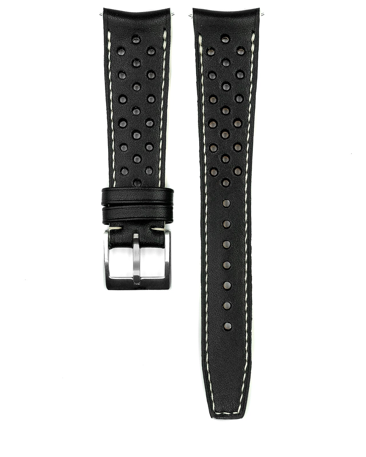 Rally Leather Strap (Black)