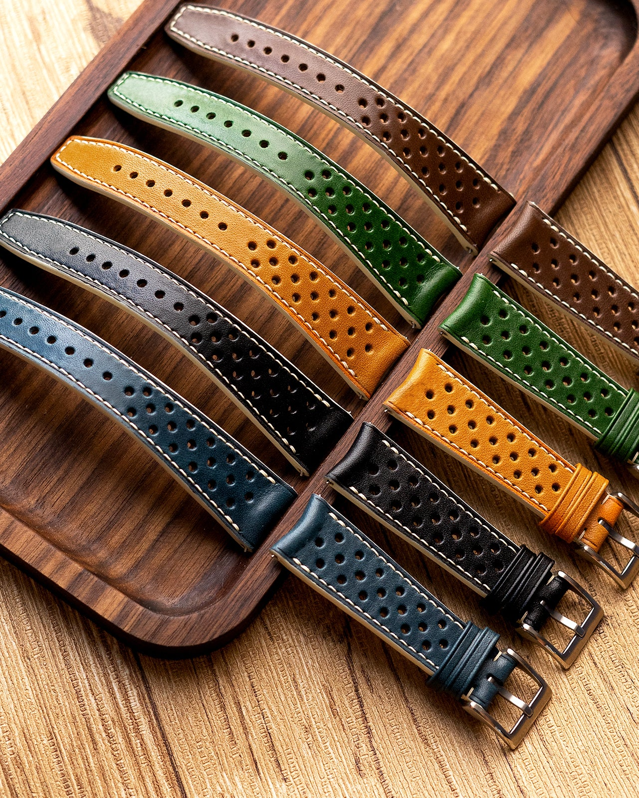 Custom - Rally Leather Strap