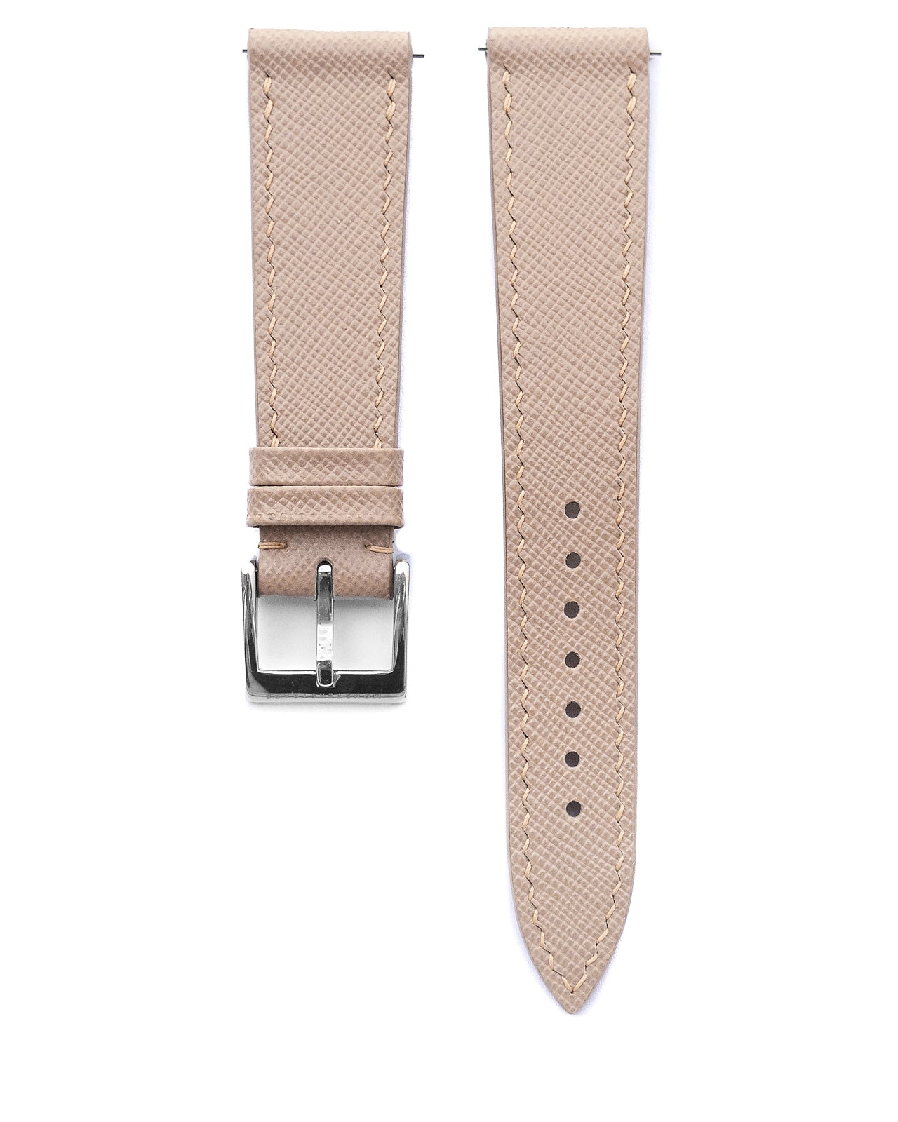 Saffiano Leather Strap (Beige)
