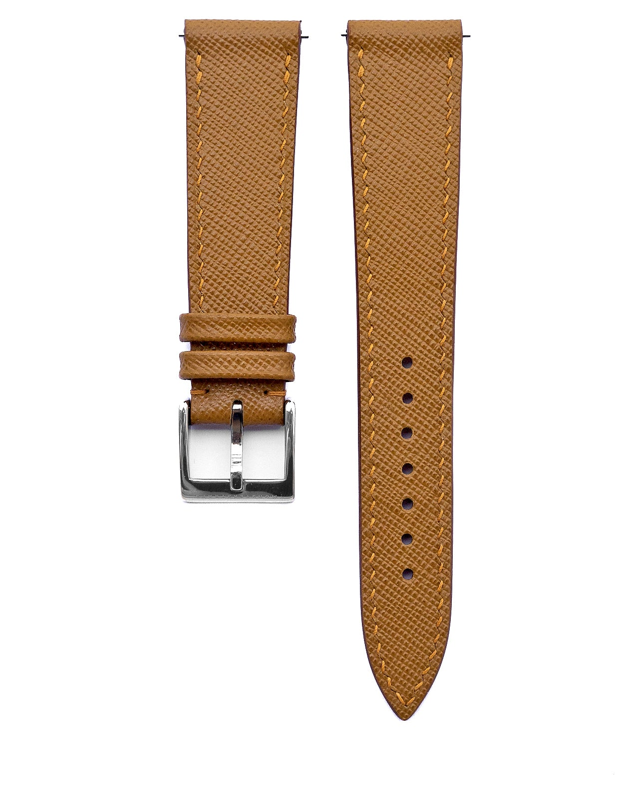 Saffiano Leather Strap (Tan)