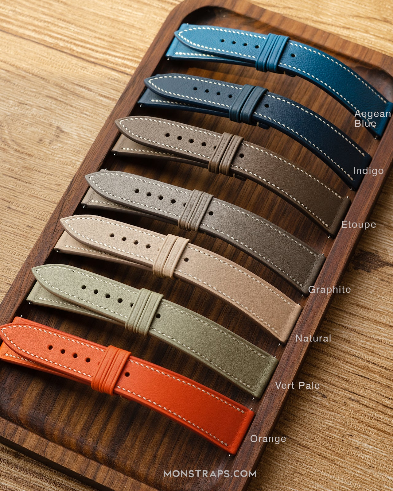 Custom - Micro Grain Leather Strap