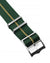 Blackbay Adjustable III - Royal Green with Khaki Centerline