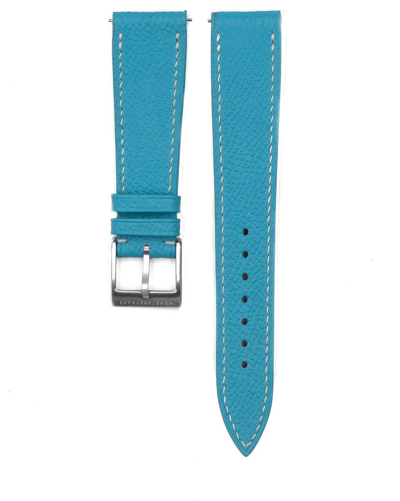 Epsom Leather Strap (Sky Blue)