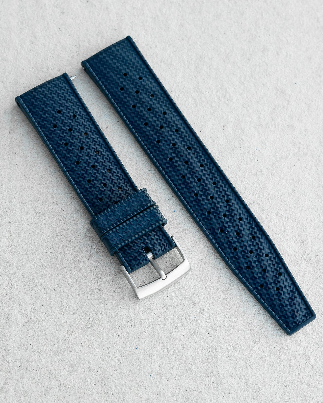 FKM RUBBER - TROPIC STRAP (NAVY)