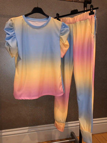 Addison Tye Dye Set - Rainbow