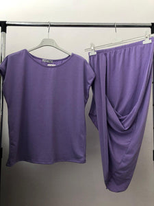 Alicia Loungwear Set - Purple