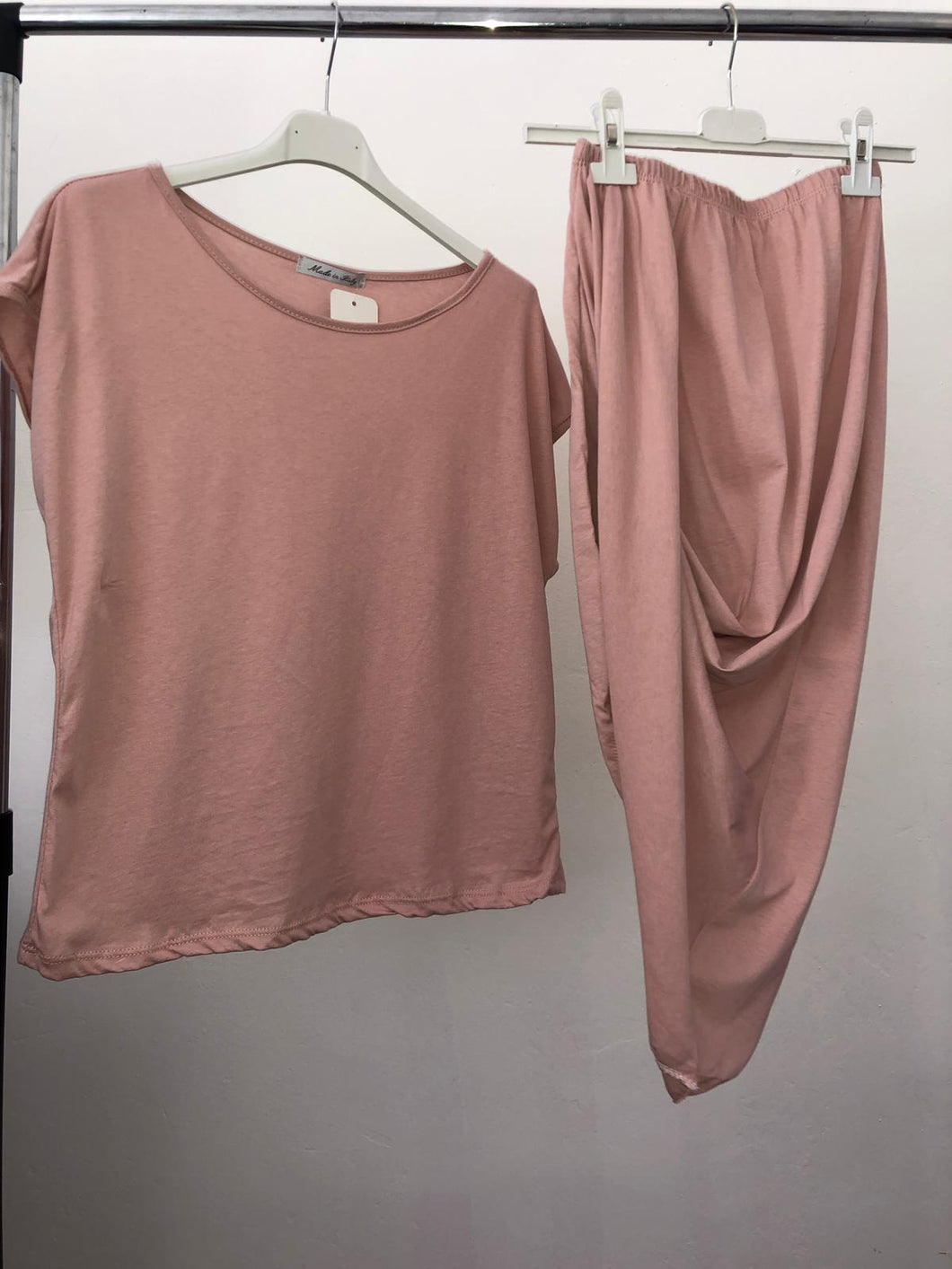 Alicia Loungwear Set - Dusty Pink