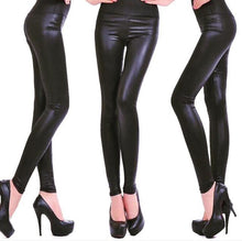 Load image into Gallery viewer, Leather Look Leggings